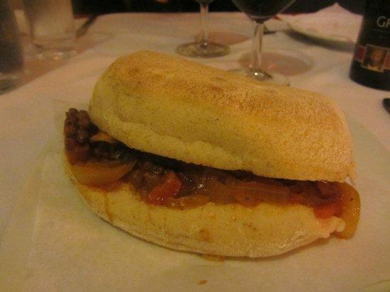 Marisqueira Tropicana: Oktopussandwich