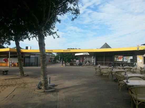 Hof Domburg: Het plein