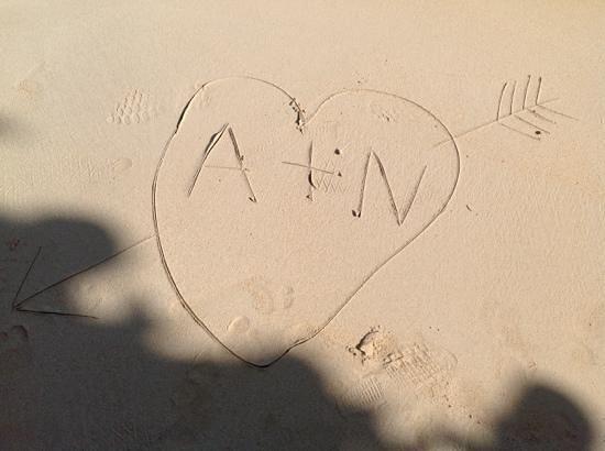 Sandals Royal Plantation: how i felt when i was on the beach