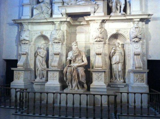 Saint-Pierre-aux-Liens (San Pietro in Vincoli) : Michaelangelo's Moses