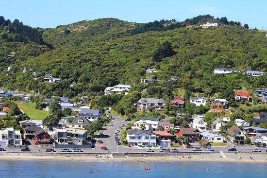 Moana Lodge: Beachfront