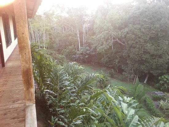 Inti Resort and Villas: Outside our room