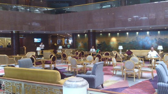 Capital Hotel Beijing: Холл отеля