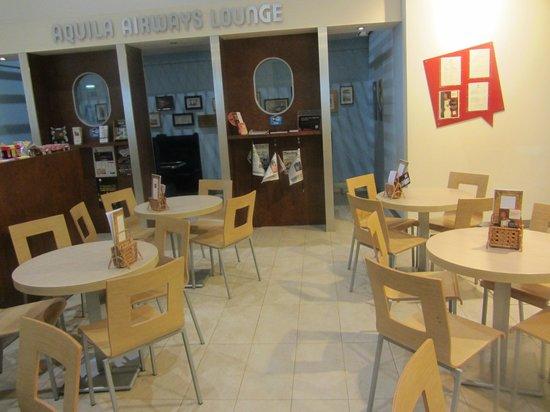 Madeira Story Centre: Sitzgelegenheiten