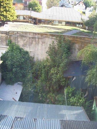 Hotel Internacional: vista desde la ventana de la habitacion