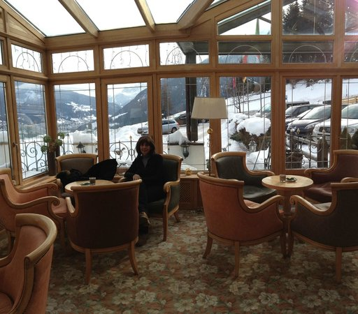 Mountain Spa Resort Hotel Albion : The wiew from the extension of the bar