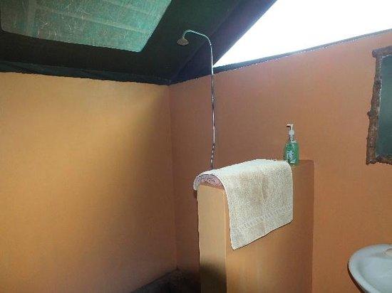 Ol Mesera Tented Camp: Shower Stall.