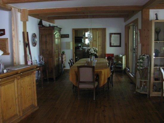 Escale du Nord : Salle à Manger où le déjeuner est servi