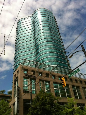The Westin Grand, Vancouver: Exterior