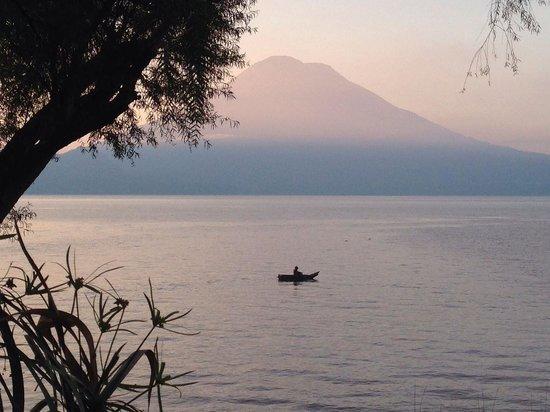 View from our room at Villa Sumaya.