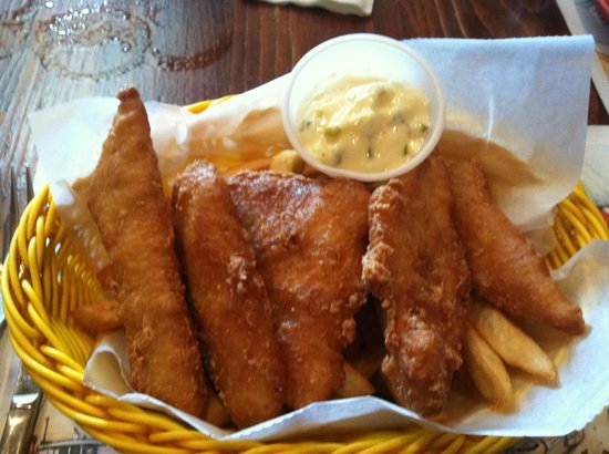 Carpenter Street Saloon: Fish N'Chips