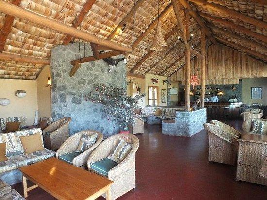 Ndutu Safari Lodge : Bar and Lounge