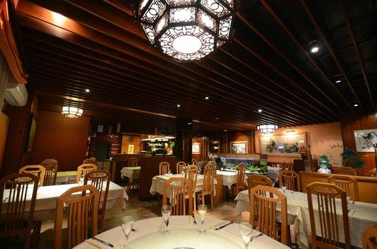 Cafe - Restaurant La Jonque : La salle du resto