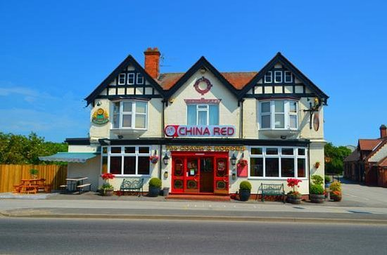 China Red at the Coach and Horses: Front outlook of the restaurant