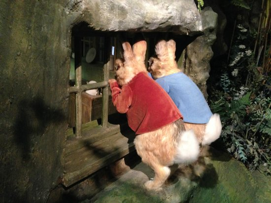 The World of Beatrix Potter: One of the scenes in the Beatrix Potter Museum