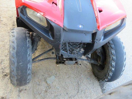 ניס Bald tires on one of many of the ATVs - Picture of Fun Tours 4 U CO-36