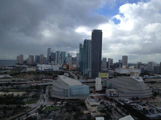 Hilton Miami Downtown : Miami view