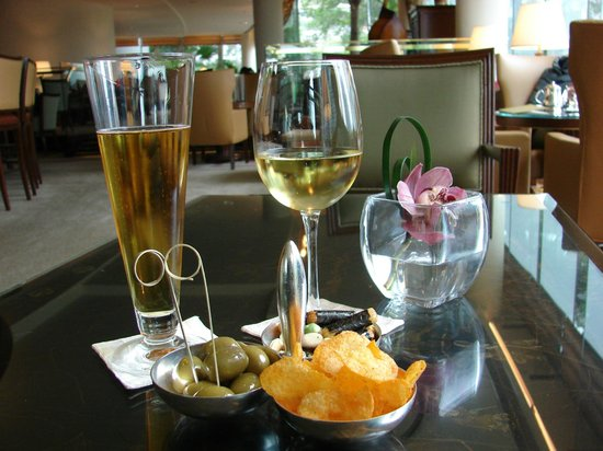 Conrad Hong Kong: Welcome drink for Hilton Honors members