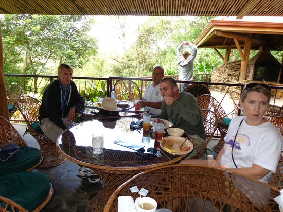 Walter's Taxi and Day Tours : Lunch with Walter at La Paz