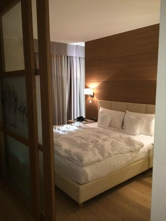 Napura Art & Design Hotel: спальня