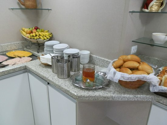 Hotel Fragata : Café da manhã