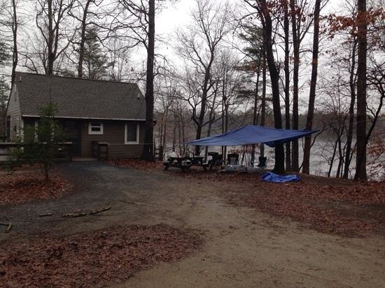 Killens Pond Campground: Pond Cottage.