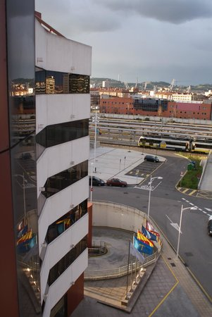 Silken Ciudad Gijon: Executive hall view