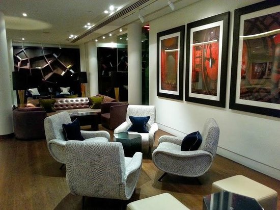 DoubleTree by Hilton London - Westminster : Lobby of the Doubletree Westminster