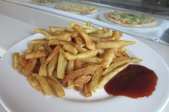 IBEROSTAR Laguna Azul: Snack Bar Fries