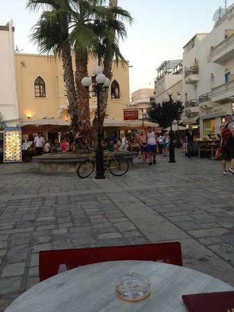 Santa Marina Hotel : One of the smaller squares (there's 3-4)