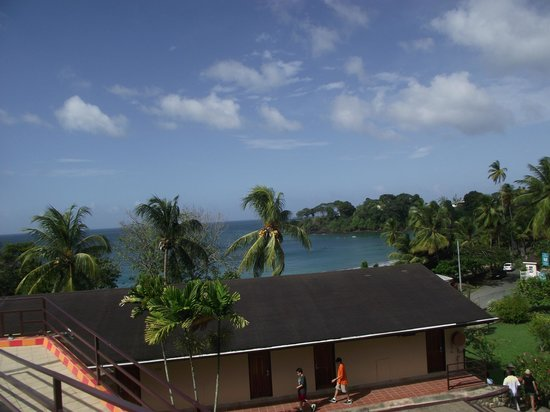 Grafton Beach Resort: View from the lobby