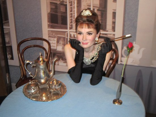 Madame Tussauds London: Audrey Hepburn