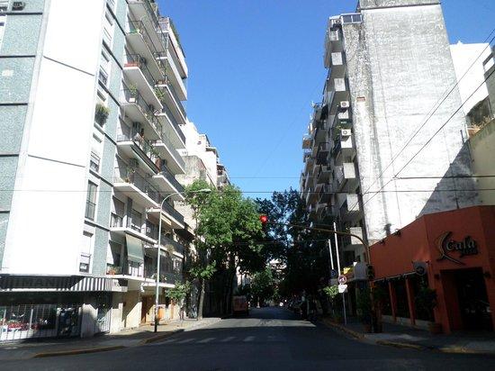 Recoleta: rua Peña
