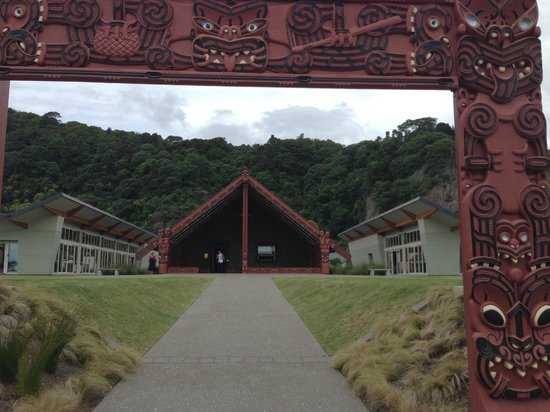 Mataatua: The House That Came Home: the house from the outside