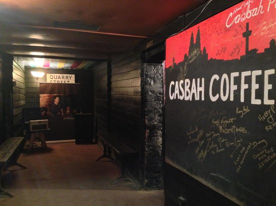 Casbah Coffee Club: The nook where John and Paul first played together as the Quarrymen.