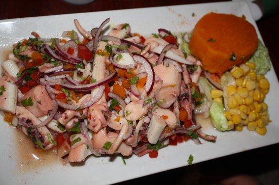 Ceviche Hut: octopus ceviche