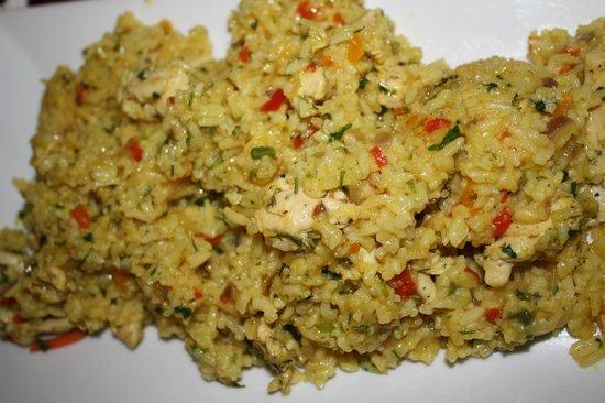Ceviche Hut: chicken paella