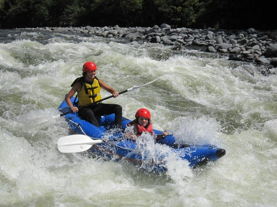 Adventure Outdoors: Down a rapid