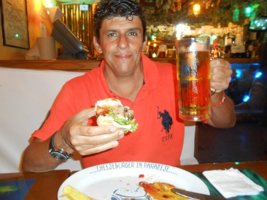 Margaritaville: Chopp de 600 ml