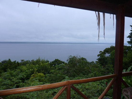 La Lancha Lodge: lake view from the room