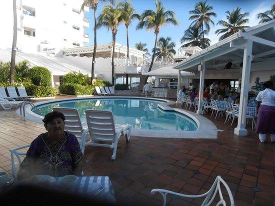 Hotel Casablanca: Restaurante en la mañana