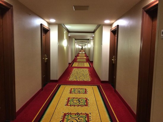Coralville Marriott Hotel & Conference Center: Hallway
