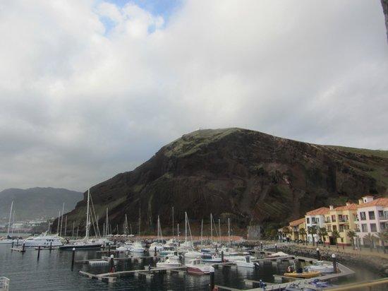 Quinta do Lorde Resort, Hotel & Marina: Blick von der Terrasse auf die Marina