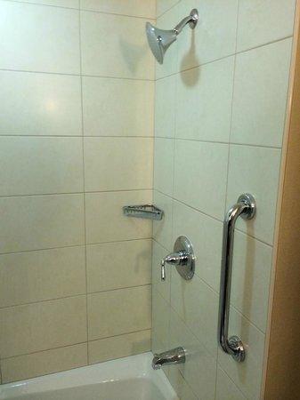 Coralville Marriott Hotel & Conference Center: Bathroom Shower