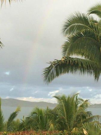 Wananavu Beach Resort : even when it rains it is special