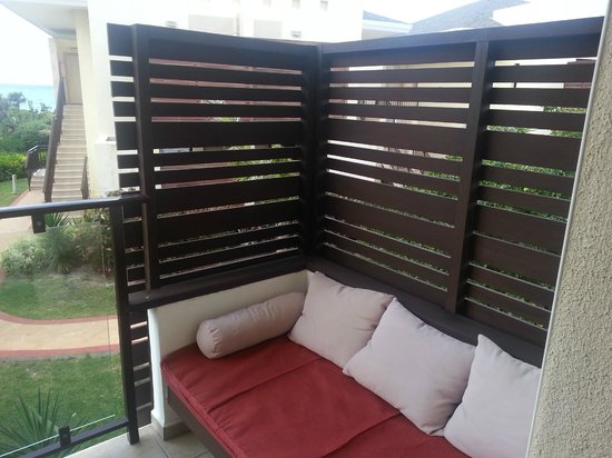 Melia Buenavista: nice little midday snoozing area on your balcony