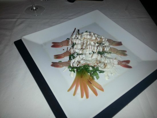 Melia Buenavista: Shrimp appetizer.....mmmm