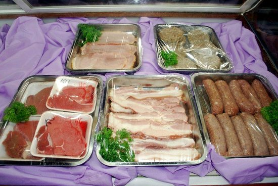 Arizona International Resort: Build your own breakfast - Fresh Meats