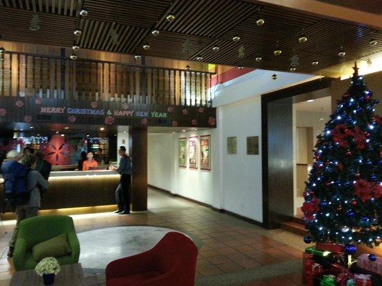 Swiss Inn Kuala Lumpur : Hotel lobby