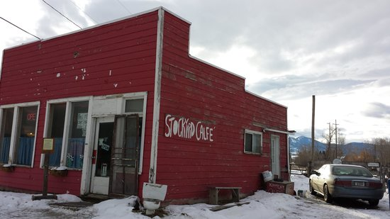 Stockyards Cafe: Outside the cafe